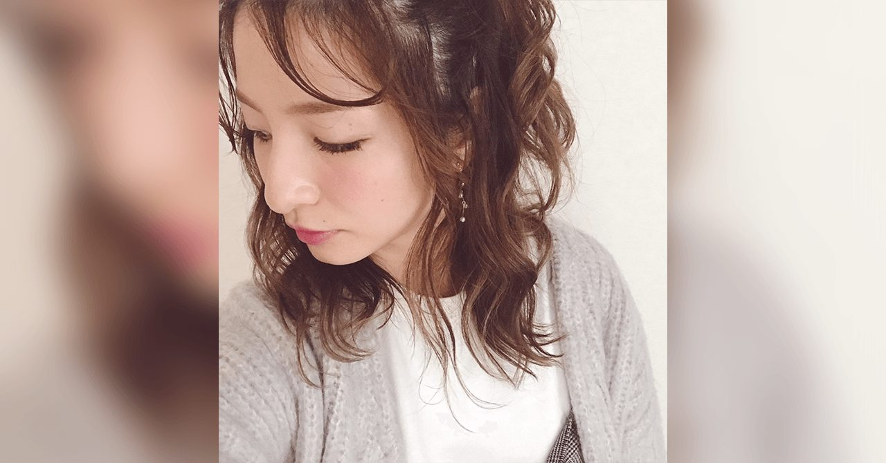 中途半端に伸びた前髪で!簡単今っぽいヘアアレンジ☆
